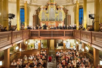 In Zöblitz erklang die Silbermannorgel ist eine der neuen Spielstätten für das Musikfest Erzgebirge.