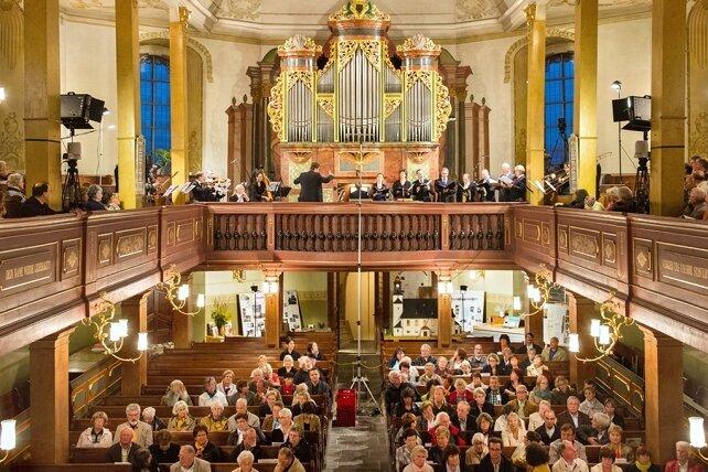 In Zöblitz erklang im vergangenen Jahr die Silbermannorgel mit Bach und Luther. In diesem Jahr wird im Publikum auf Abstand geachtet werden müssen.
