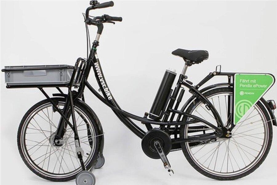 Die Fahrräder für Postzusteller müssen robust sein.