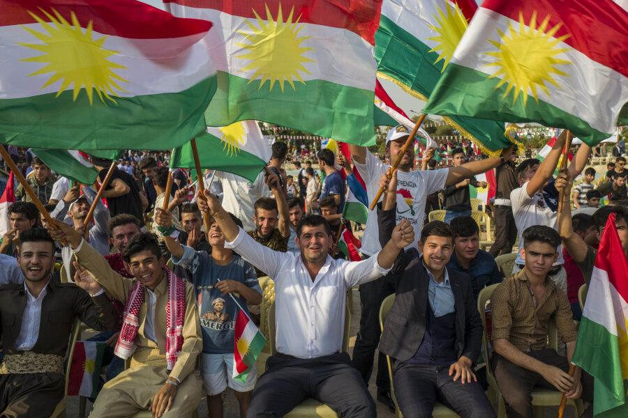 Die nordirakischen Kurden lassen sich ihren Traum vom eigenen Kurdenstaat nicht ausreden. Am 25. September wollen sie über die Unabhängigkeit ihrer Autonomieregion abstimmen - trotz des Verbots aus Bagdad.