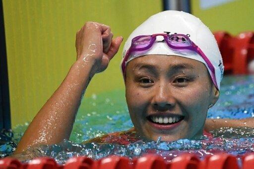 Liu Xiang schwimmt als erste Athletin unter 27 Sekunden