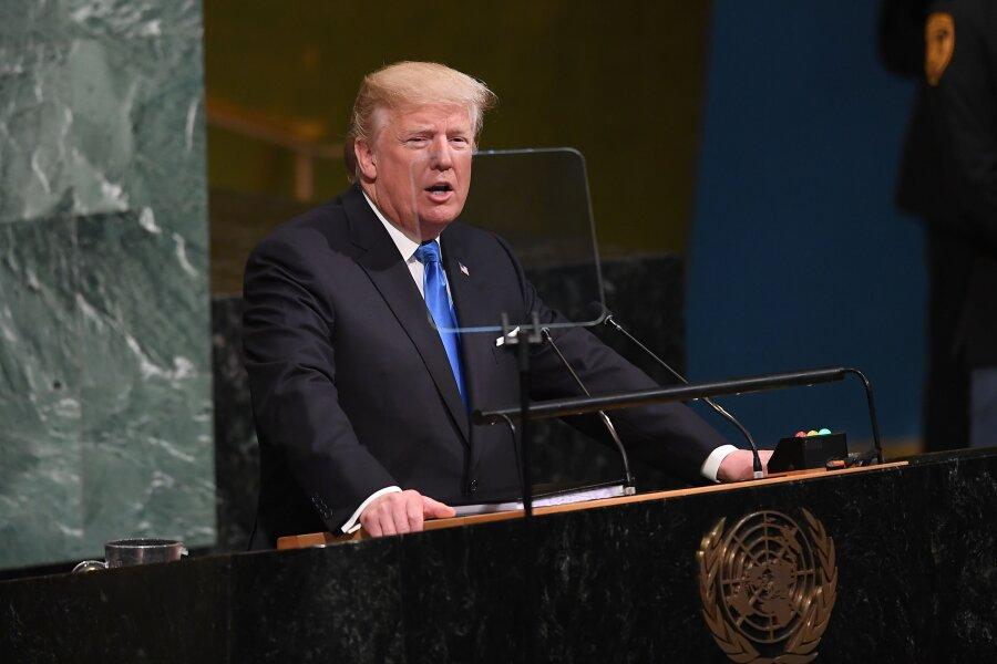 Premiere vor den Vereinten Nationen: Die erste Rede des US-Präsidenten Donald Trump fällt für seine Verhältnisse sachlich aus, auch wenn es ihr nicht an Härte mangelt.