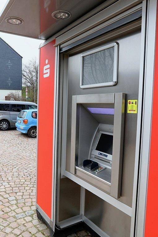 Neben Vielau kann nun auch wieder in Reinsdorf Geld abgehoben werden.