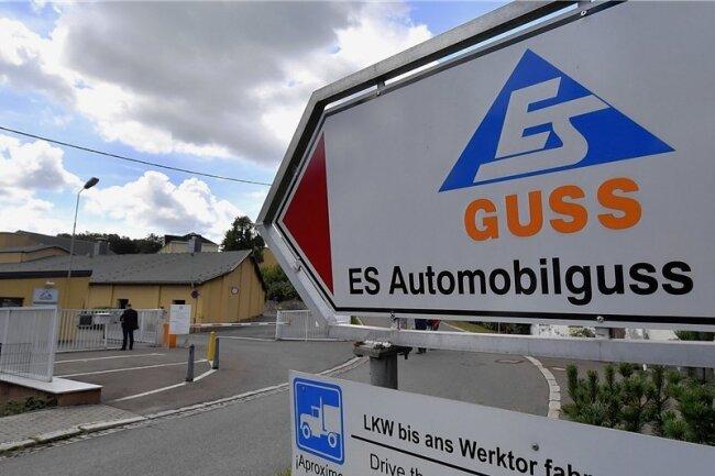Werksgelände von ES Guss. 400 Mitarbeiter hat die Firma.