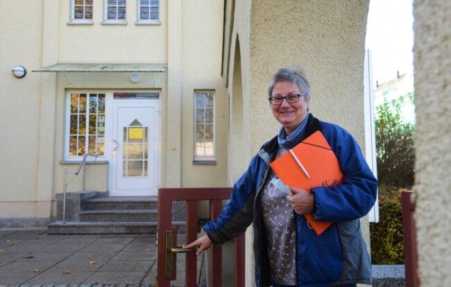 Kerstin Knorr bietet mit ihrem Team im Suchtberatungszentrum Chemnitz an der Hans-Sachs-Straße 9 Hilfe und Beratungsangebote für Suchtkranke an.