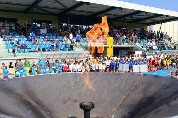 Die Flamme der Kinder- und Jugendspiele wird frühestens im Juli entzündet werden.