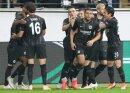 Eintracht Frankfurt bejubelt einen 4:1-Sieg gegen Lazio