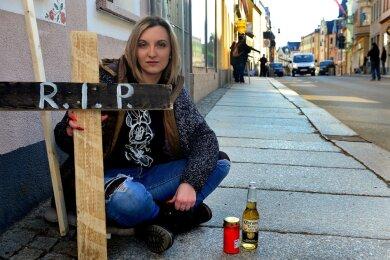 """Alena Dirksen vom russischen Restaurant """"Rodina"""" hat die Aktion initiiert."""