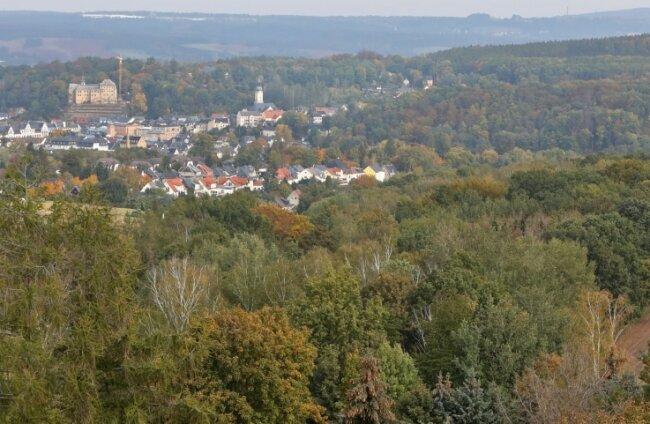 Die Stadt Lichtenstein ist seit jeher von viel Wald umgeben. Den hütete einst der Gräflich-Schönburgische Revierförster.