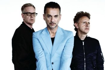 Andrew Fletcher, Dave Gahan und Martin Gore (von links) sind Depeche Mode.