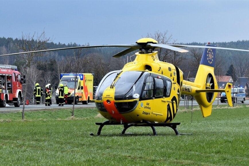 Fünf Verletzte bei zwei Unfällen in Weischlitz und Rodewisch