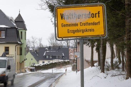 Die abwassertechnische Erschließung von Walthersdorf soll 2021 enden. Bald startet der Bau an der Alten Scheibenberger Straße.