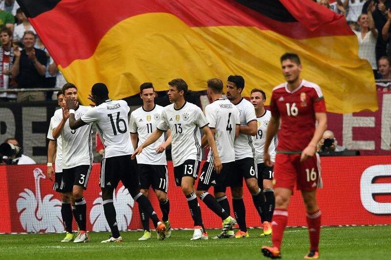 Die deutsche Nationalmannschaft feierte eine gelungene Generalprobe für die EM.