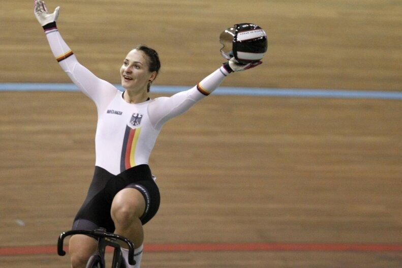 Olympiasiegerin Kristina Vogel gewann in dieser Saison bei zwei Weltcups bereits vier Einzeldisziplinen.