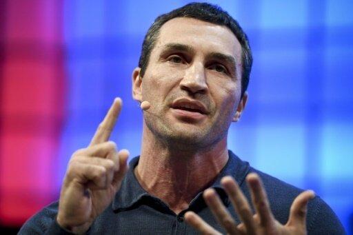 Wladimir Klitschko macht sich für das Boxen stark