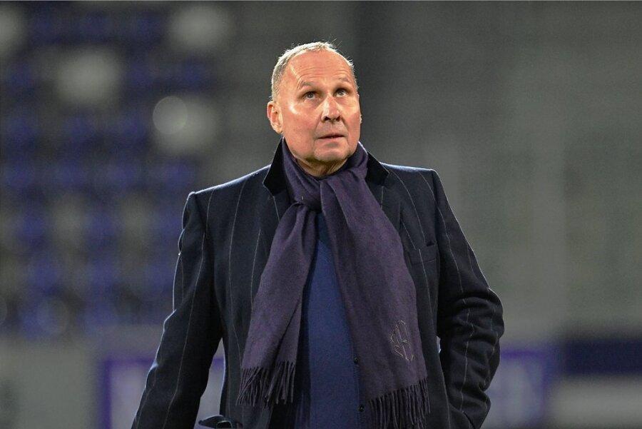Helge Leonhardt blickt optimistisch in die Zukunft - der FC Erzgebirge ist gut aufgestellt.