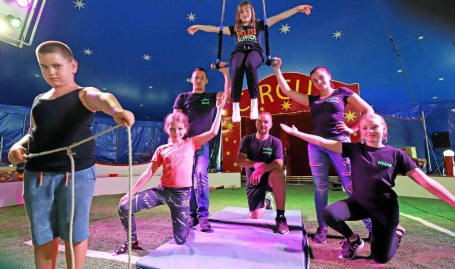 Ferienkinder machen Zirkus