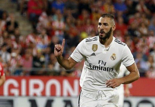 Benzema traf gegen Girona doppelt