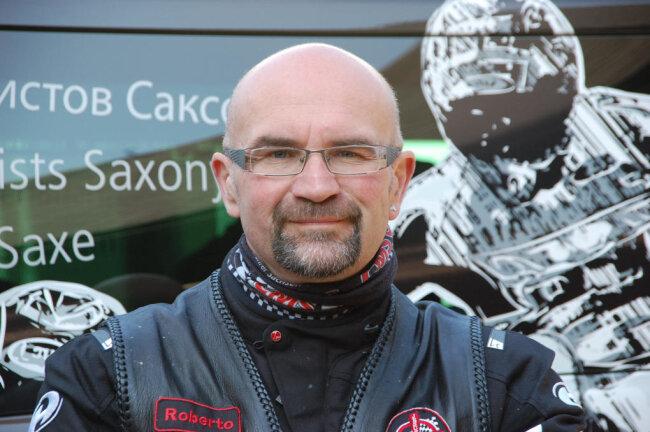 Roberto Jahn - Motorradfahrer-Seelsorger