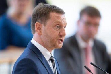 Sachsens Ministerpräsident Michael Kretschmer