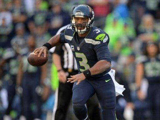 Quarterback Russell Wilson führt die Seahawks zum Sieg