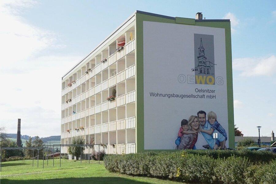 Der Großvermieter Oewog verfügt in Oelsnitz über 950 Wohnungen.