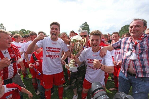 FSV Zwickau sichert sich Regionalliga-Meisterschaft