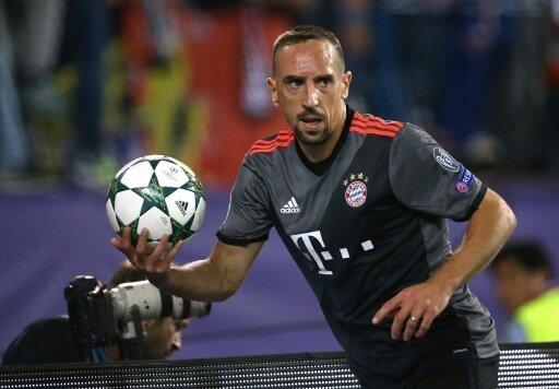 Ribéry hatte mit muskulären Problemen zu tun