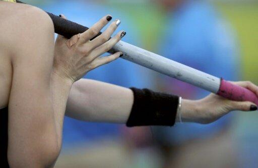 Leni Freyja Wildgrube gewinnt Gold im Stabhochsprung