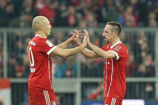 Robben und Ribery sorgen beim FCB weiterhin für Furore