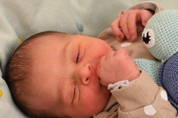 Ein Junge namens Mats beschloss am Klinikum Chemnitz den Geburtsjahrgang 2020. Foto: Klinikum Chemnitz