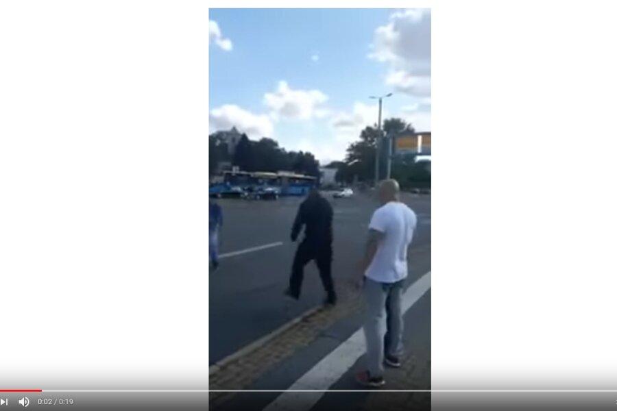 Angreifer in Chemnitz offenbar Mitarbeiter von Sicherheitsfirma