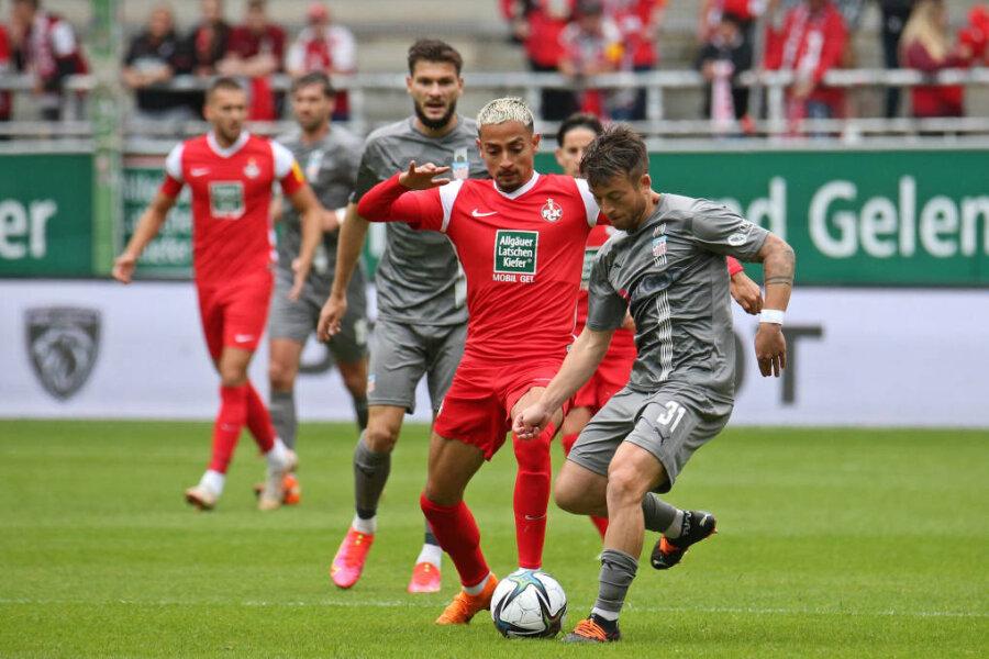 Trotz Eigentor: Zwickau holt Punkt in Kaiserslautern