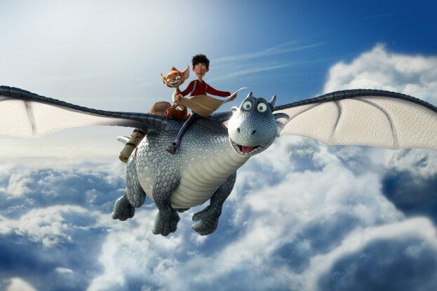 Im Film Drachenreiter geht es um die turbulente Suche nach dem Saum des Himmels.