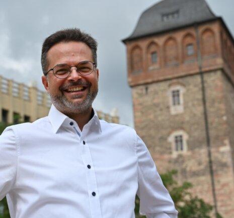 Thomas Lörinczy (50) kandidiert zur Bundestagswahl. In Chemnitz ist er bislang vor allem als Radfahr-Aktivist bekannt.