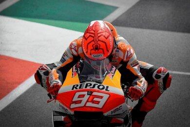 Marc Marquez ist ein absoluter Ausnahmekönner im Motorradsport. Am Sachsenring feierte er bereits zehn Siege.