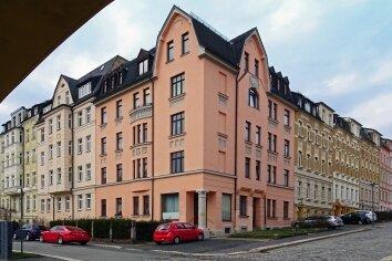 An dieser Stelle treffen die Hintere Gellertstraße und Voßstraße aufeinander.