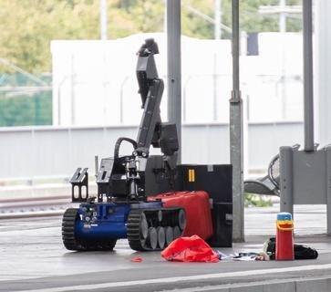 Der Chemnitzer Hauptbahnhof wurde am Samstag gesperrt und verdächtiges Gepäck untersucht.
