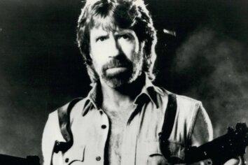 """Chuck Norris 1985 als Matt Hunter in """"Invasion U.S.A."""""""