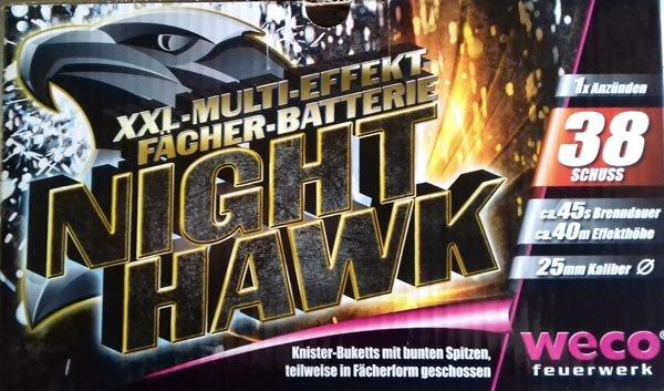 Zurückgerufen: Night Hawk.