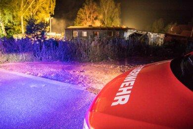 Die Kameraden der Feuerwehren Halsbrücke und Conradsdorf/Tuttendorf waren im Einsatz.