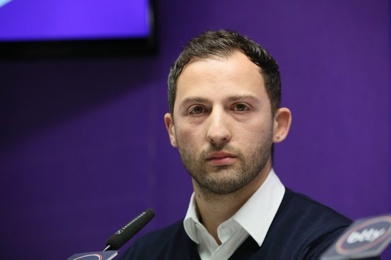 Neuer Auer Trainer: Domenico Tedesco.