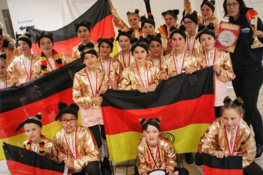 Kindermannschaft der TSG Rubin Zwickau