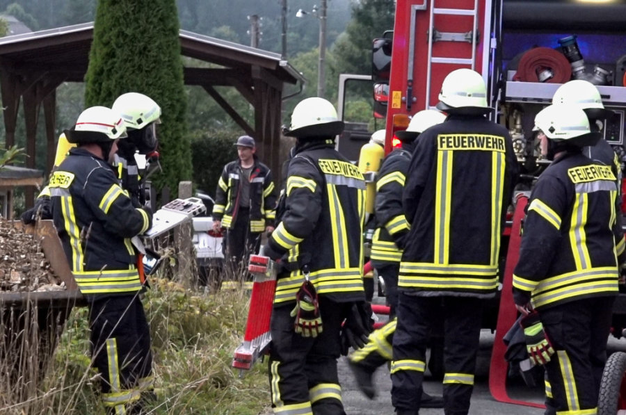 Brand in Keller eines Klingenthaler Einfamilienhauses
