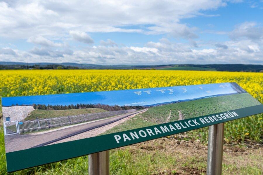 Panorama am Höhenradweg