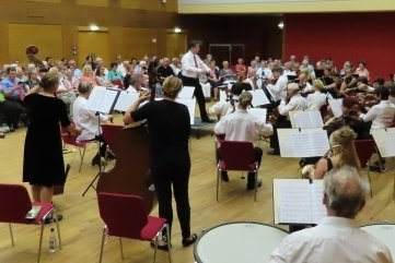 Das Collegium Musicum in Aktion.