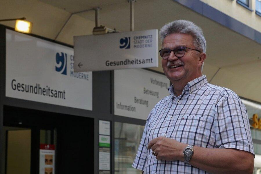 Geht vorzeitig in den Ruhestand: Amtsarzt Dr. Harald Uerlings.
