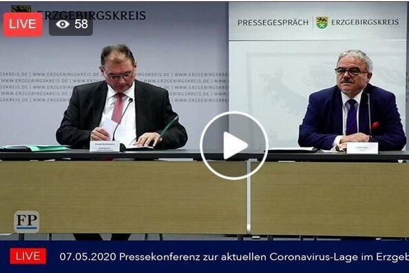 Landrat Frank Vogel warnt Erzgebirger vor Leichtsinn