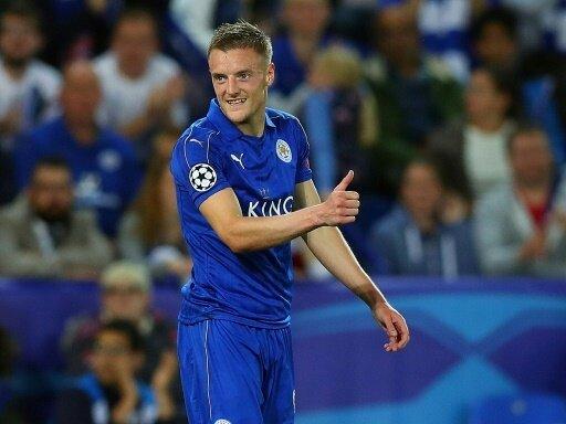 Daumen hoch: Jamie Vardy verlängert bei Leicester City