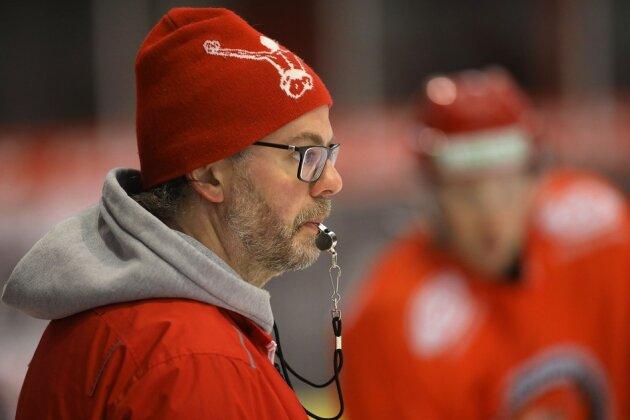 Eispiraten: Erstes Training unter Boris Rousson